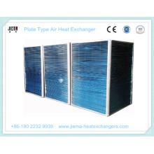 Воздушный теплообменник пластинчатого типа в качестве конденсатора
