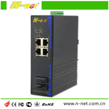 Nicht verwalteter industrieller 10 / 100m-Ethernet-Switch