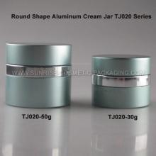 50 г круглые формы алюминия крем Jar