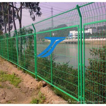 Quente mergulhado galvanizado / cerca de PVC Cotaed
