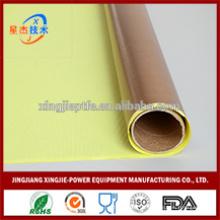 Resistente al agua buena resistencia al calor PTFE liberar cinta adhesiva de papel