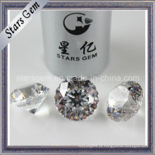De Boa Qualidade Branco 9hearts1flower Star Cut CZ Stone