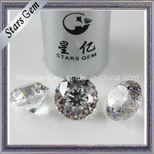 Хорошее качество Белый 9hearts1flower Star Cut CZ камень