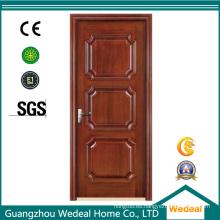 Puertas de madera de acero de seguridad para proyectos de casas