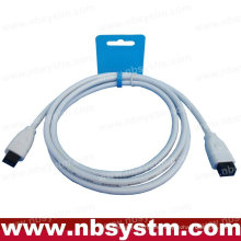 6 FT de 9 a 9 PIN IEEE1394B iLINK FIREWIRE 800 CABLE