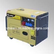 Groupe électrogène diesel silencieux refroidi par air portatif de 3.2kw (DG4500SE)