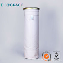 100% PTFE sac de filtre à poussière non tissé (poinçonné à l'aiguille)