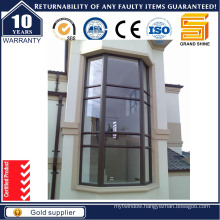Aluminum French Casement Windows with Fixed Glass (CW-50)