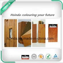 High Quality RoHS Standard Home Decoration Wood Effect Powder Coating