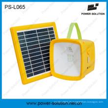 4500mAh Rechargeble Solar Torch com rádio FM e carregador móvel