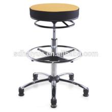 2017 Alta Qualidade preto / amarelo Tecido Giratório Cadeira Cadeira Cadeira
