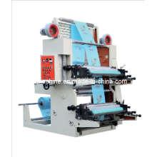 Machine d'impression à la flexographie haute vitesse à 2 couleurs (CE) (HYT-2600, HYT-2800)