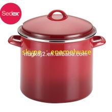 hot sale 26cm Casserole Pot/ 8/10qt enamel stock pot