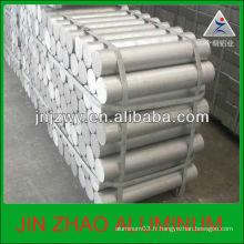 Tiges en aluminium dur 7075 / tiges en aluminium extrudé chaud