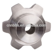 China manufacturing high-quality non-standard 6 tooth sprocket