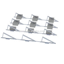 20KW Solar Panel System Flat Roof Solar Mounting Structure