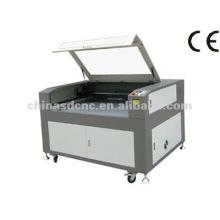 Máquina de corte de Laser de Co2 de JK-1280 para borracha, couro, pano, madeira