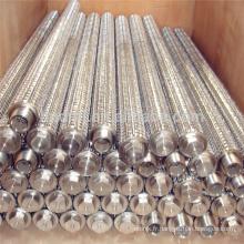 Filtre en métal d'OEM 0,01 ~ 100 microns, filtre en acier inoxydable d'huile lourde, élément filtrant en acier inoxydable