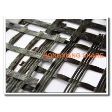 Geogrelha de reforço de fibra de vidro