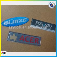 Etiqueta de adesivo de abóbada de resina epóxi personalizada
