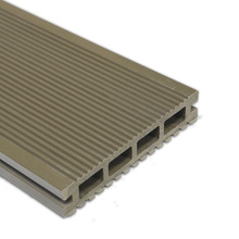 Composite Decking Solid Deep Embossing WPC Decking