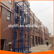 outdoor lift elevators hydraulic with CE ISO certification