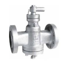 Inverted Pressure Balance Lubricated Plug Valve ANSI Class 150 - Class 1500 Steel/Stainless Steel