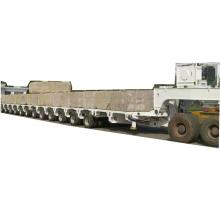 Transportador modular con plataforma hidráulica
