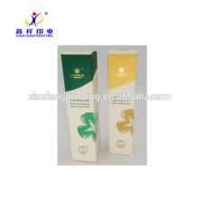 Luxe facile à prendre des boîtes en carton blanches de carton de boîte de papier d'emballage