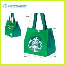 Logo Printing Non Woven Handle Cooler Bag Rbc-076