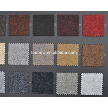 Abraham moon brand from UK, flannel style 100% wool coat fabric for stock service