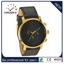 Relógios de pulso Senhoras relógio de pulso de quartzo de aço e relógio dos homens (DC-560)