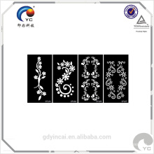 Henna design of latest tattoo sticker,bride temporary body tattoo sticker