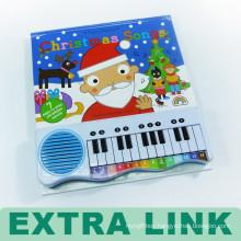 Fancy High End Custom Design Hard Cover Cardboard Perfect Binding Children Musical Book