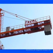Hochwertiger Turmdrehkran nach Bangladesch exportiert