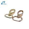 Accessoires de quincaillerie à deux tailles Mousqueton en métal doré