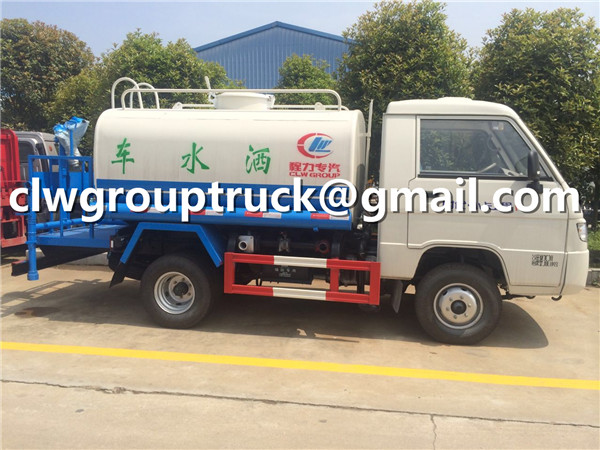 3000 Litres Watering Tank Truck