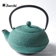 Chinesische Emaille Gusseisen Teekanne / Wasserkocher Mit Stainelss Stahl Griff