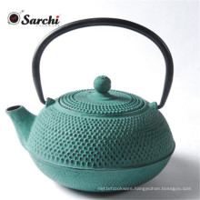 Chinese Enamel Cast Iron Teapot/Kettle With Stainelss Steel Handle