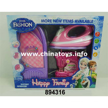 B/O Plastic Toy Electrical Home Appliances Set (894316)