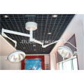 Wall mounted and ceiling optional shadowless surgery lamp