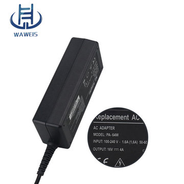 Laptop AC Adapter 16V 4A 65W Sony