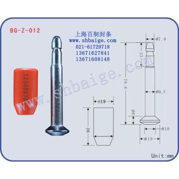 High security bolt seal BG-Z-012