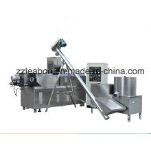 Máquina de fabricación de línea de producción de alimentos para perros mascota de método seco