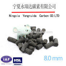 Good adsorption activated carbon column plant in China