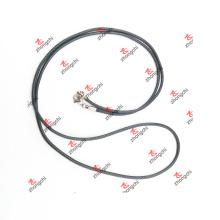 Custom DIY Black cadeia corda trançada para jóias pingente (ARJ60104)