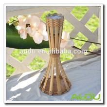 Audu Bamboo Antorcha Citronella Vela En La Tabla