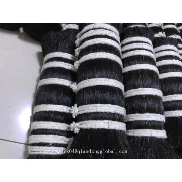 Atacado Black Horse Mane Hair