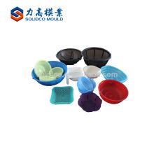 China supplier kitchen plastic vegetable basket mould