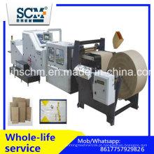 Kraft / Craft saco de papel inferior quadrado fazendo a máquina